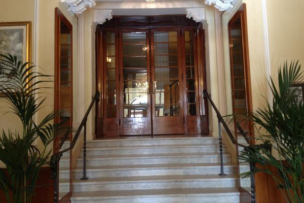 Grand Hotel des Anglais -ingresso