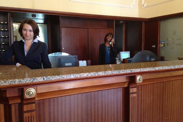 Grand Hotel des Anglais - reception