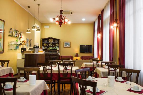 Hotel Belle Epoque - sala colazione