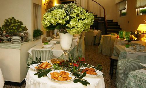Hotel Eveline Porto Sole - sala colazione