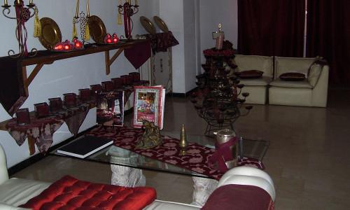 Hotel Eveline Porto Sole - salottino hall