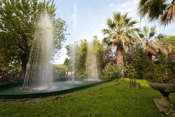 Hotel Nyala - giardino