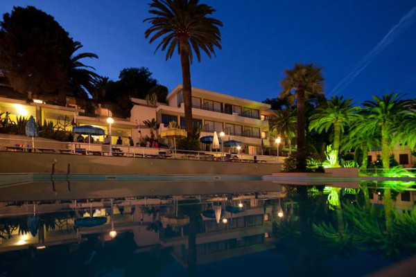 Hotel Nyala - vista nottuna