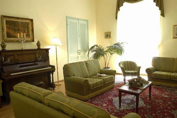 Hotel Villa Sapienza - salottino