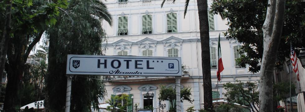 Hotel Alexander Sanremo -book hotel online Sanremo Riviera Ligure