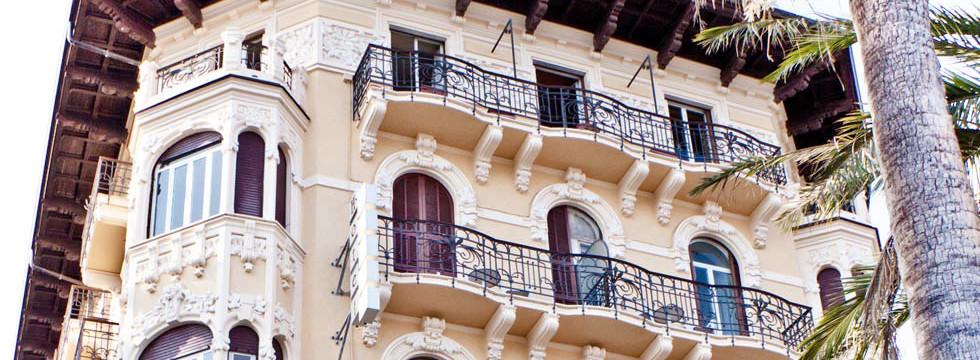 Prenota bellissimo albergo a Sanremo - hotel lolli palace prenotazione online - book online hotel family hotel on the seafront
